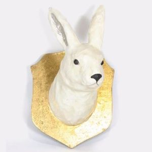 Anthropologie Artic Hare Wall Mount